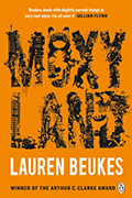 Moxyland book cover by Lauren Beukes