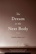Dream in the next body book cover by Gabeba Baderoon