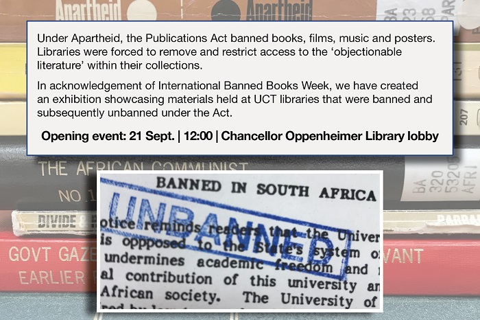 Banned Books Exhibition