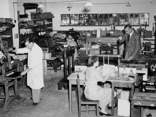 The Library Bindery, 1954.