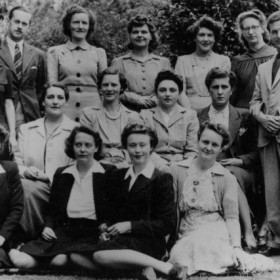 The staff of UCT Libraries, 1945