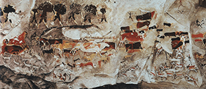 Photo of Sebaaieni Cave: Hunting Scene from Artstor