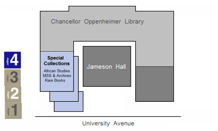 Special Collections Map