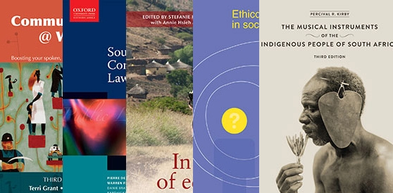 New Books by UCT Authors